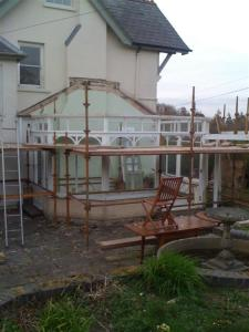 Conservatory - without roof