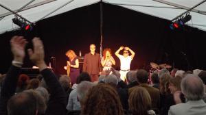 Mina Agossi Trio at Brecon Jazz