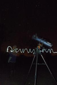 Danyfan star gazing