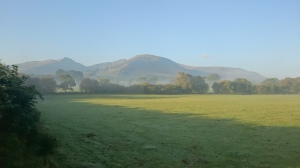 The Brecon Beacons from our side